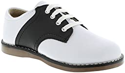 FootMates Unisex Cheer 3 (Infant/Toddler/Little Kid) White/Black Oxford 3 Infant M/W