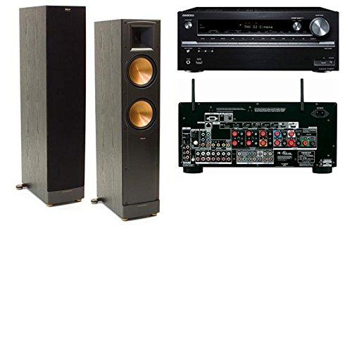 Klipsch Rf-82 Ii Tower Speakers-Onkyo Tx-Nr838 7.2