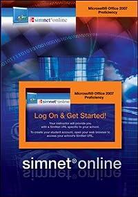 SimNet for Office 2007 Proficiency Registration Card download ebook