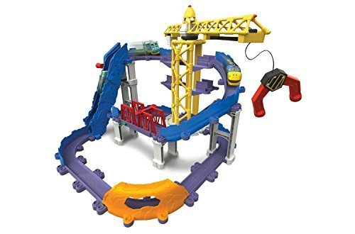 Chuggington StackTrack Brewster's Big Build Adventure Set by Chuggington