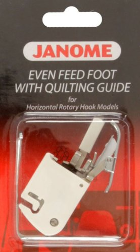 Janome Even Feed Foot w/Quilting Guide By The Each