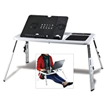 Executive Laptop Workstation Extendable Table Stand