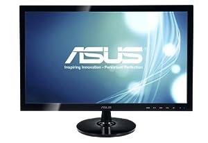 Asus VS248H 61 cm (24 Zoll) Monitor (VGA, DVI, HDMI, 2ms Reaktionszeit) schwarz