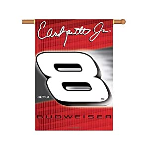 #8 Dale Earnhardt Jr. Double Sided 28 X 40 Outdoor Hanging NASCAR Banner by BSI Products Inc.