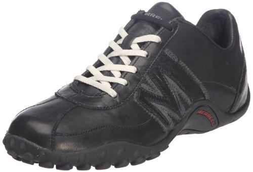 Merrell SPRINT BLAST, Sneaker uomo, Multicolore (BLACK/SCARLET), 46