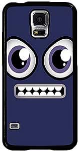 PrintVisa Cartoon Grin Smiley Case Cover for Samsung Galaxy S5