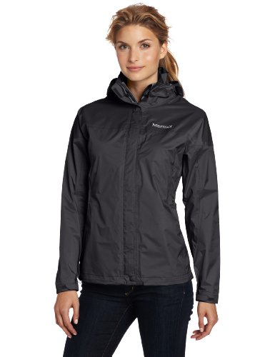 Marmot Women's Precip Waterproof Jacket - Black, X-Small