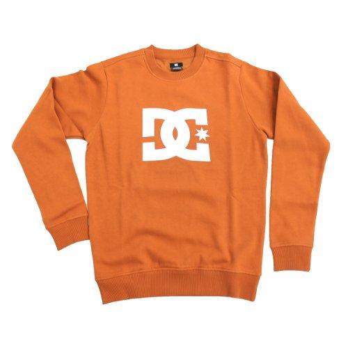 DC Men's Star Crew Neck Sweatshirt - Rust (S)