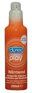 Durex Play Wärmendes Gleitmittel, 1er Pack (1 x 200 ml)
