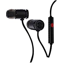 buy Munitio Nines Tactical Earphones With 1 Button Universal Mic Control - Black