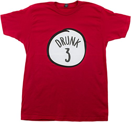 Drunk 3 | Funny Drinking Team, Group Halloween Costume Unisex T-shirt