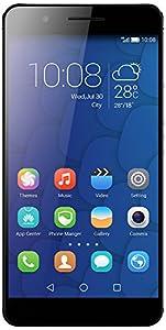 Honor 6 Plus 4G Dual SIM-Free Smartphone (5.5-inch Full HD Screen, 8 MP Dual Rear Camera, 3 GB RAM, Android) - Black
