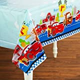 Disney - Disney 1st Birthday Cars Plastic Tablecover