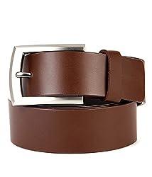Walletsnbags Novapull Trouser Leather Belt (B5_Brown_34)