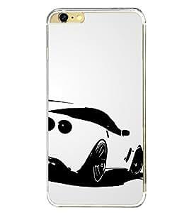 Luxury car 2D Hard Polycarbonate Designer Back Case Cover for Apple iPhone 6 Plus :: Apple iPhone 6+