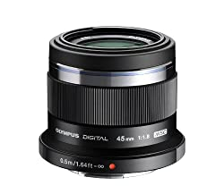 Olympus M. Zuiko Digital ED 45mm f1.8 Lens for Olympus and Panasonic Micro 4/3 Cameras