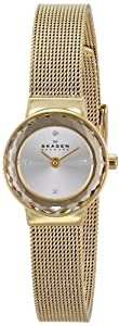 Skagen Women's SKW2186 Leonora Quartz 2 Hand Stainless Steel Gold Watch