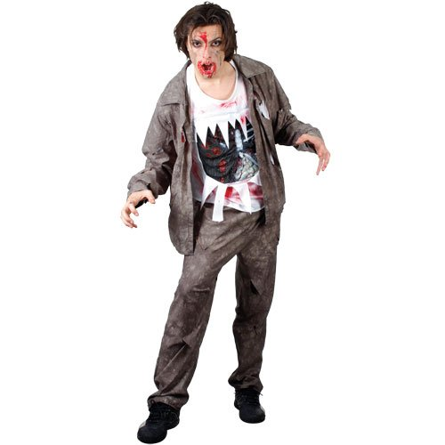 Wicked Halloween Mens Living Dead Zombie Costume small