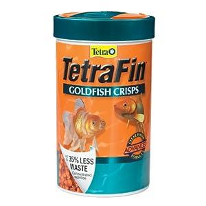 Tetra 77181 TetraFin Goldfish Crisps, 7.76-Ounce, 1-Liter