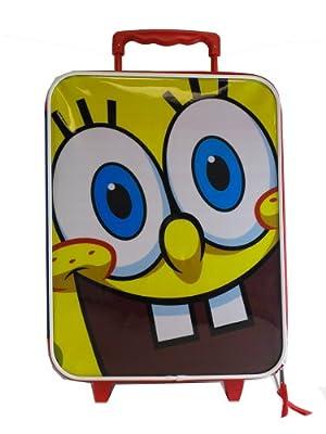 Spongebob Suitcase - Kids Travel Luggage (Big Eyes) by Nick Jr