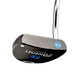 Rife Legend Z Black Anodized Heel Shaft Mallet Golf Putter, 35-Inch, Right