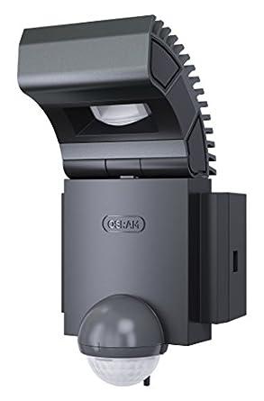 Osram 73134 LED Noxlite Spot 8 W Sensor Außenleuchte mit Bewegungs- und Tageslichtsensor