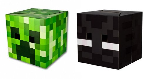 Official Minecraft 12 Creeper Enderman Exclusive Head