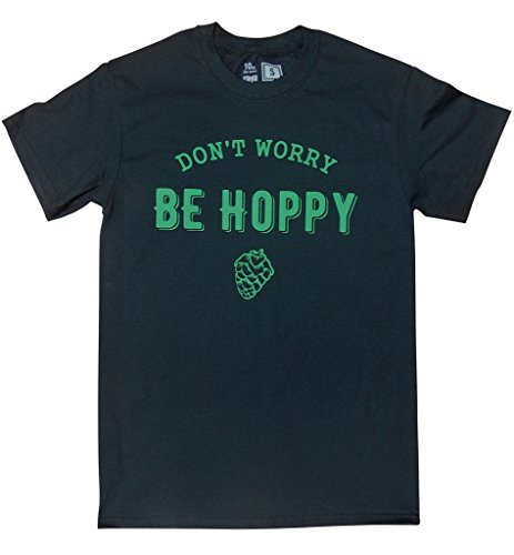 10oz Apparel Worry Hoppy Black