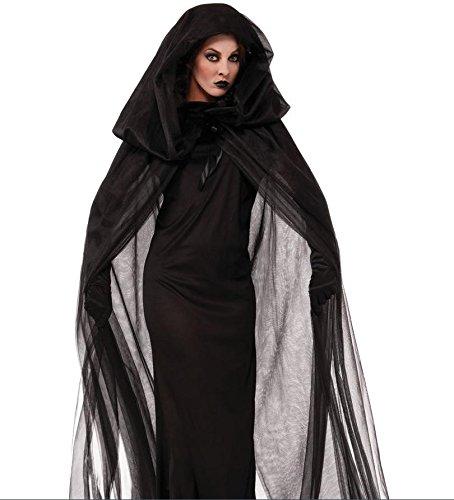 Abiti neri per Halloween, divertente gioco di ruolo Halloween uniformi , black ,