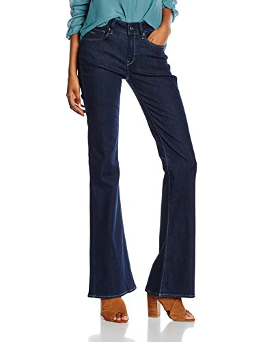 G-Star - 3301 High Flare Wmn, Jeans da donna, Blu (Rinsed 082), 29W x 34L