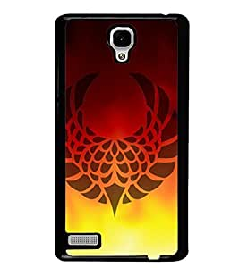 Fuson Premium Graphic Art Metal Printed with Hard Plastic Back Case Cover for Xiaomi Redmi Note 4G