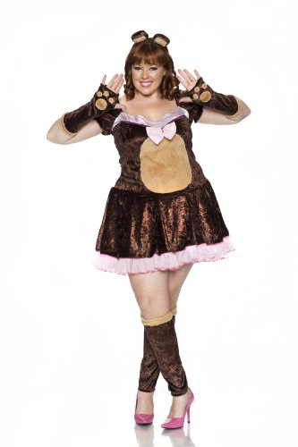 Delicious Plus-Size Beary Cute Costume