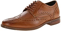 Rockport Men\'s Style Purpose Wingtip Oxford, Tan, 7 M US