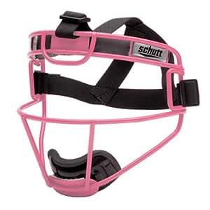 Schutt Sports Youth Softball Fielders Faceguard, Titanium Pink
