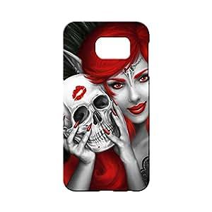 BLUEDIO Designer 3D Printed Back case cover for Samsung Galaxy S7 Edge - G3432