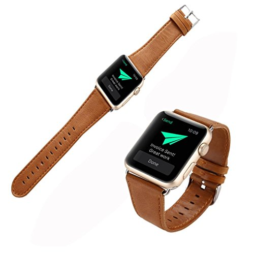 Leather Buckle Apple Watch Wrist Band