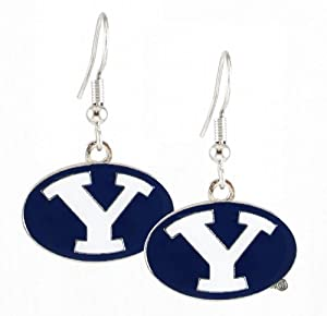 Buy Brigham Young Cougars - NCAA Team Logo Dangler Earrings by aminco