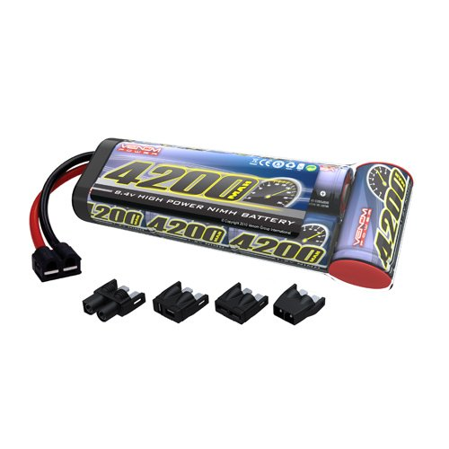 Venom 8.4v 4200mAh 7-Cell NiMH Battery Flat Pack with Universal Plug System