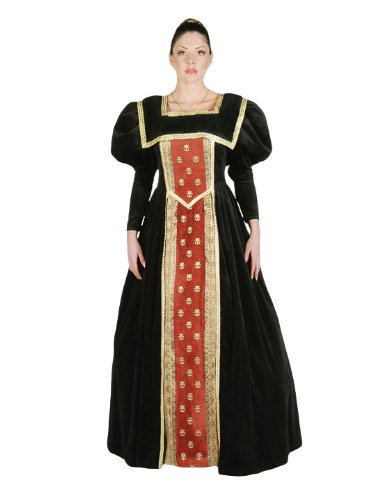 Deluxe Plus Size Renaissance Queen Theatrical Quality Costume