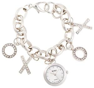 XOXO Women's XO7017 Silver Dial Silver-tone Charm Watch