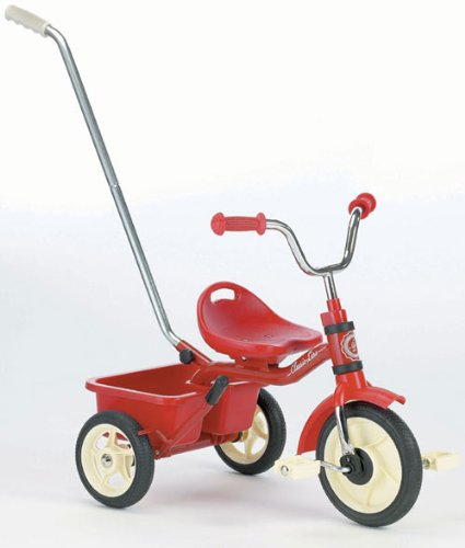 Italtrike 10 inch Transporter Classic - Red