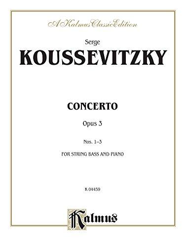 Concerto, Op. 3 (A Kalmus Classic Edition)