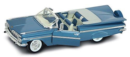 diecast-suerte-1959-chevrolet-impala-coleccionistas-de-coches-diecast-modelo-pizarra-azul