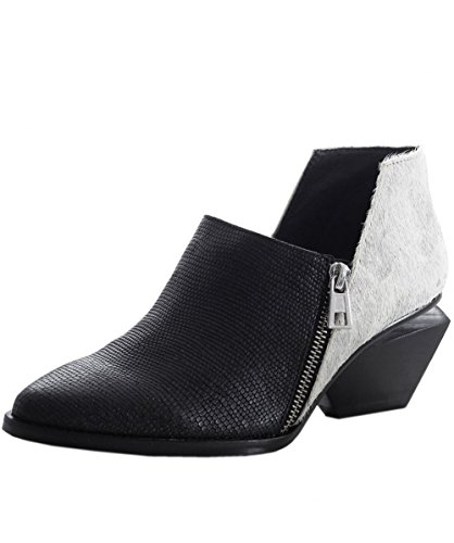 United Nude Da Donna Stevie Pony Hair Boots 40 Nero & Argento