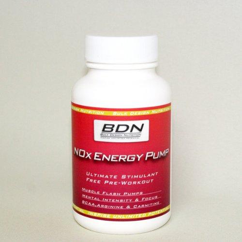 バルクデザイン スポーツサプリメント Nox Energy Pump 240粒