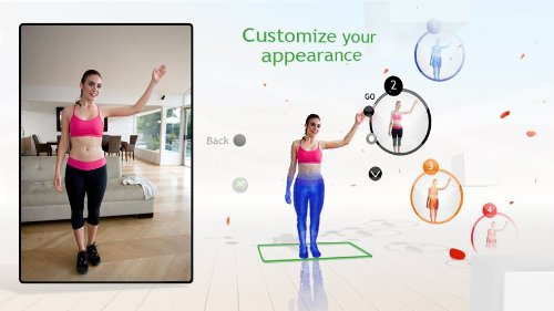 Online Game, Video Game, fitness, kinect games, exercise, xbox kinect, 360, motion control, exercise, full body, ea sports active, Your Shape Fitness Evolved