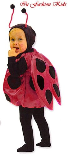 Ladybug Costume for Infant or Toddler with Bracelet for Mom