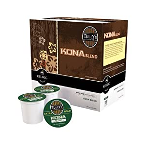 Review Keurig Tully's Kona Blend Coffee - K-Cup - 18-Count