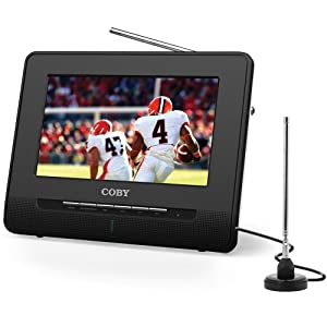 Coby TFTV992 9-Inch 480p 60Hz Portable Digital LCD Television (Black)