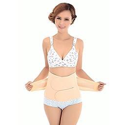 Monkeybrother Women Breathable Elastic Postpartum Postnatal Recovery Girdle Belt Pregnancy Belly Waist Band Abdomen Abdominal Binder Slim Slimming Shapewear Cincher (S)